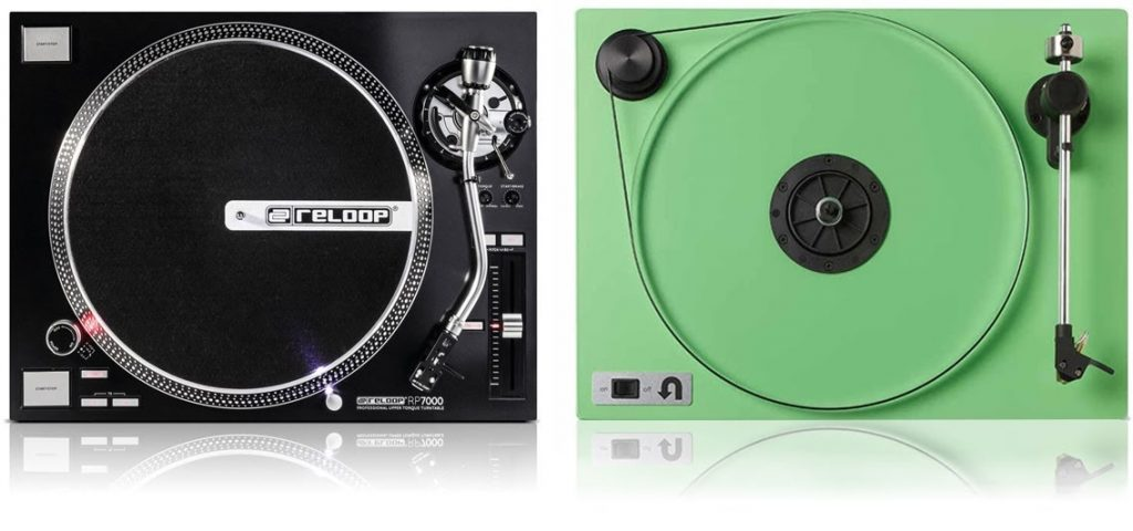 direct drive vs belt drive turntables